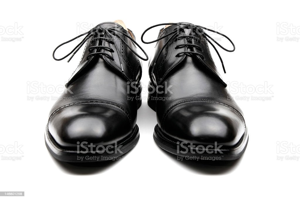 Men's Business Shoes stock photo
