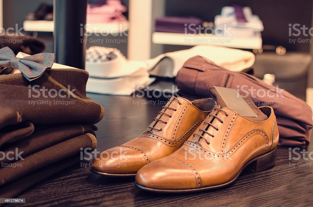 mens clothing stock photo