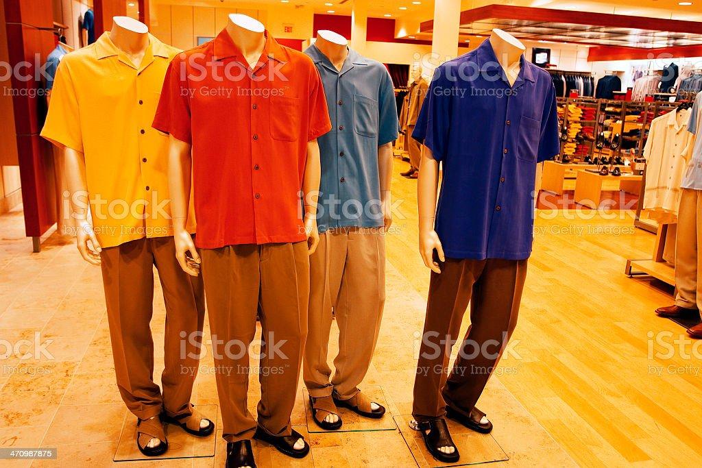 Men's Fashion royalty-free stock photo