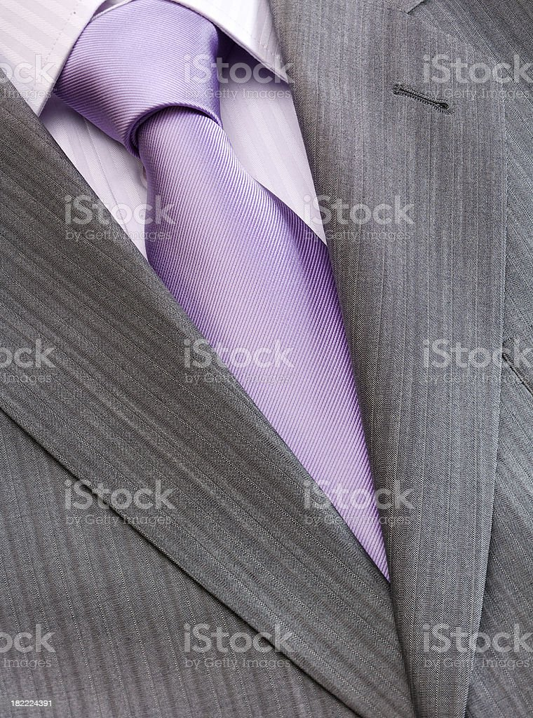 Men's fashion - shirt, tie and jacket royalty-free stock photo