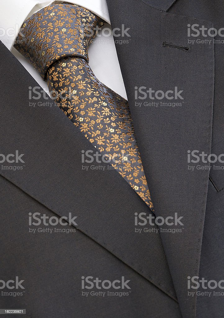 Men's fashion - shirt, tie and jacket royalty-free stock photo