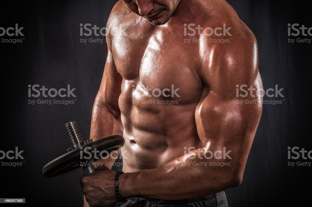 Men`s Fitness stock photo