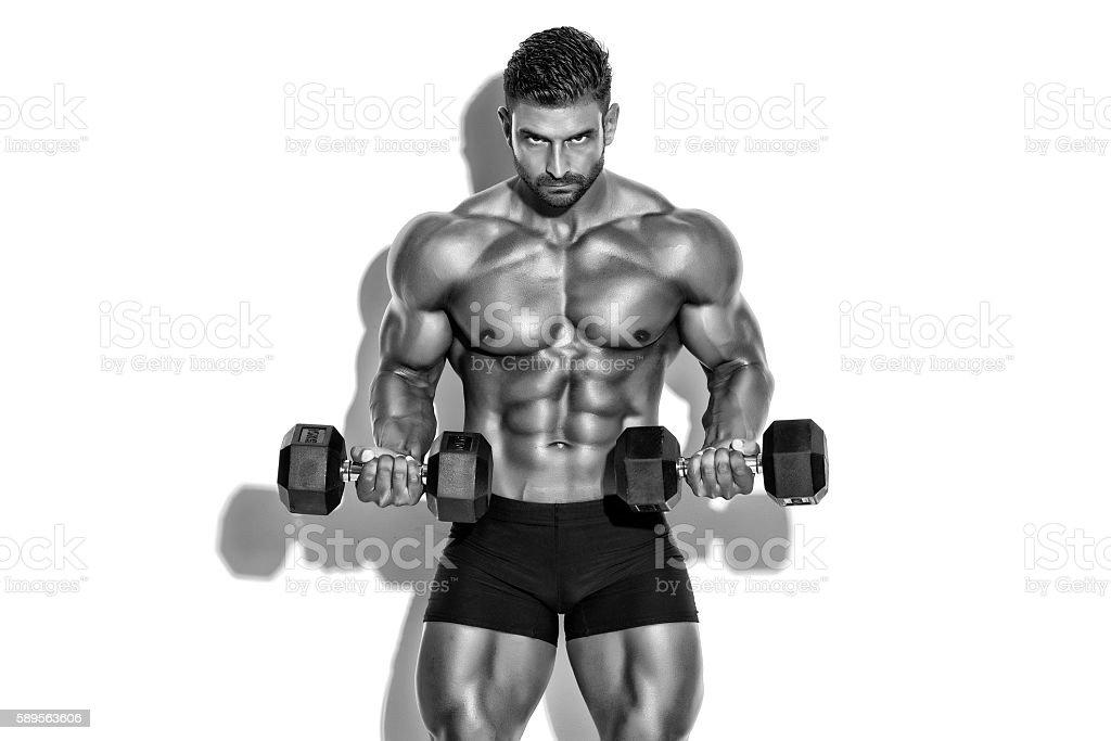 Men`s Fitness stock photo