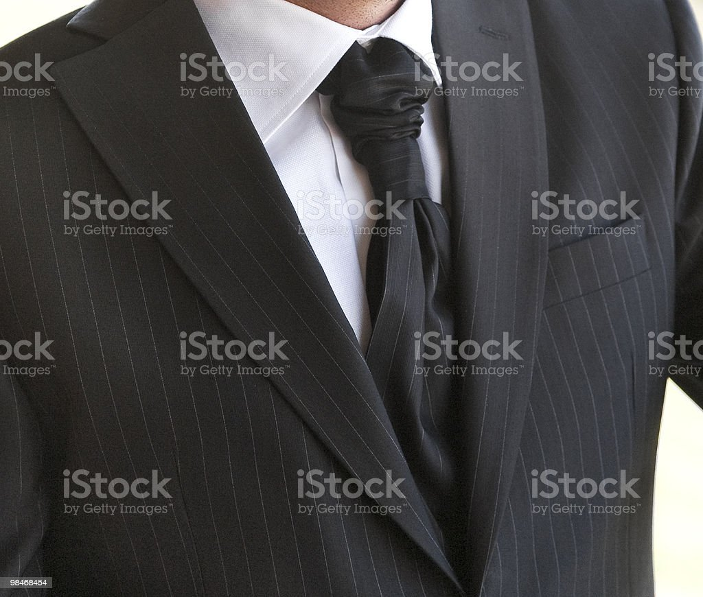 Men's formal dress royalty-free stock photo