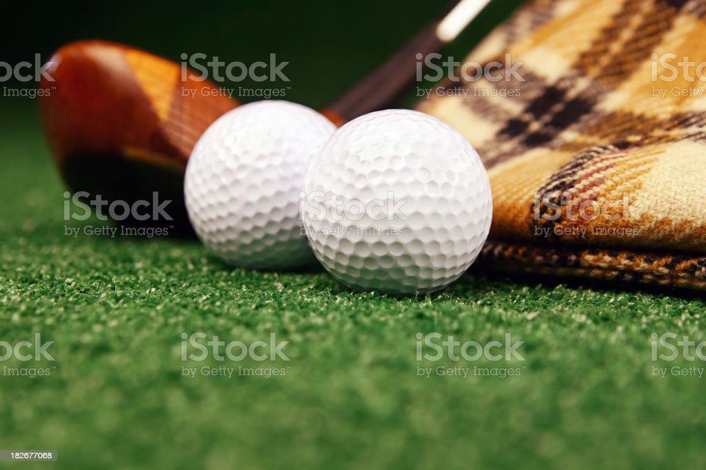 Men's Golf royalty-free stock photo