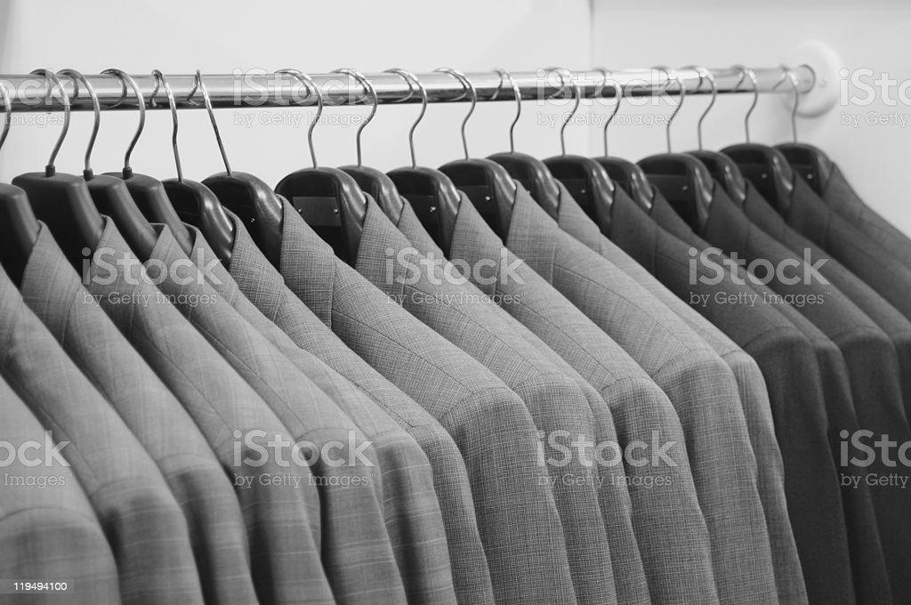 Men`s  jackets. stock photo