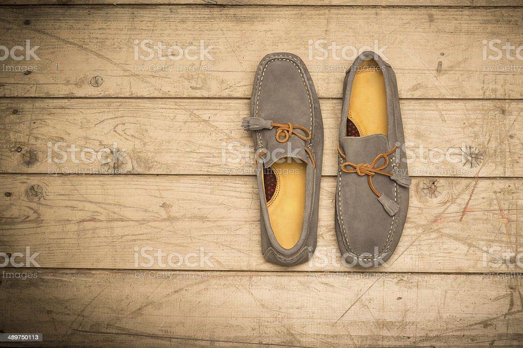 Men's Loafer Shoe stock photo