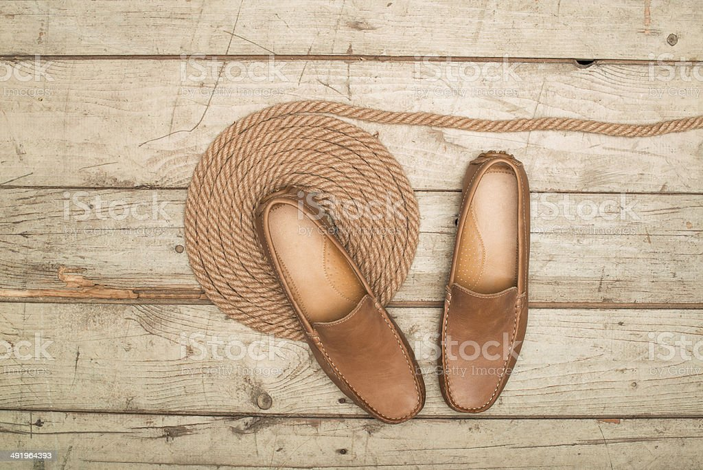 Men's Loafer Shoe royalty-free stock photo