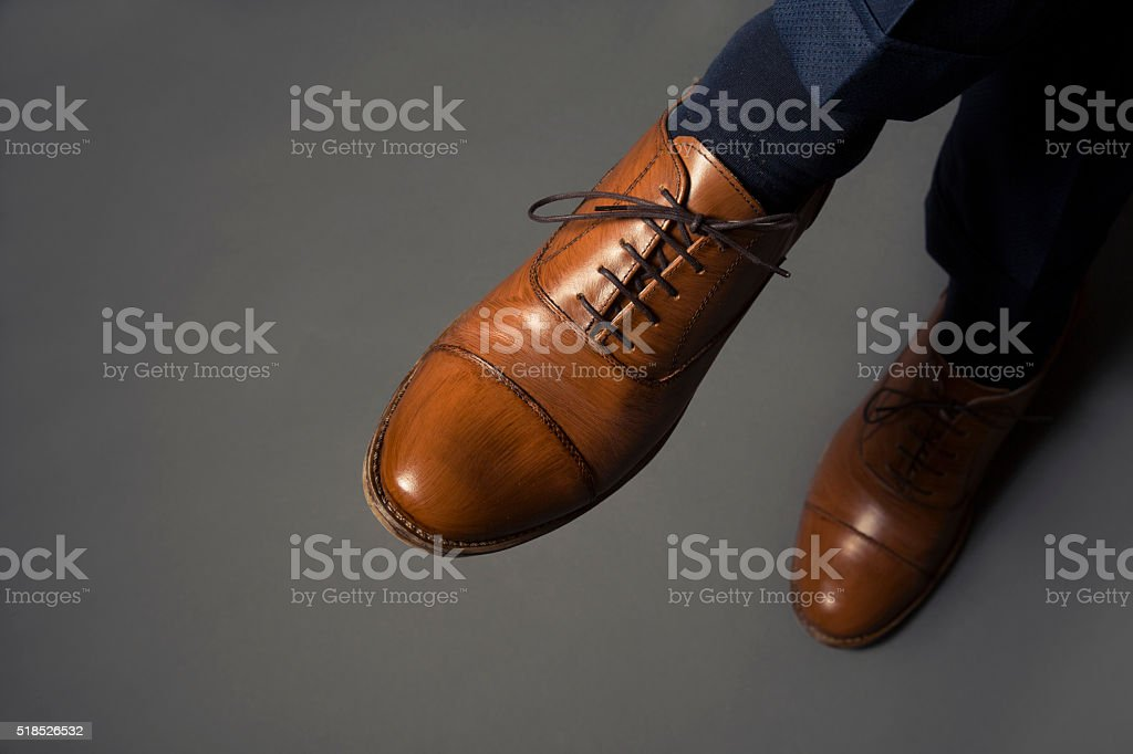 Men's Luxury Shoes stock photo