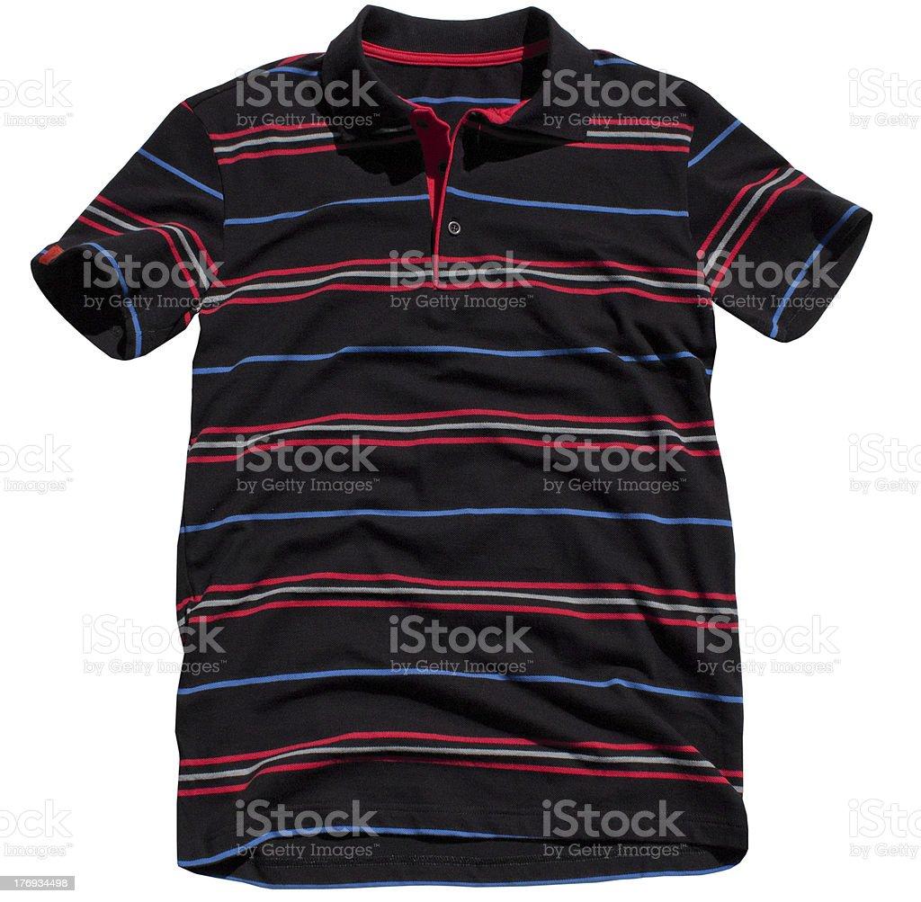 Men's polo shirt royalty-free stock photo