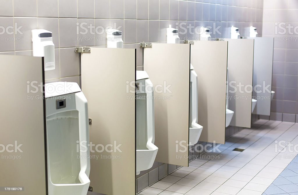 Men's Room stock photo