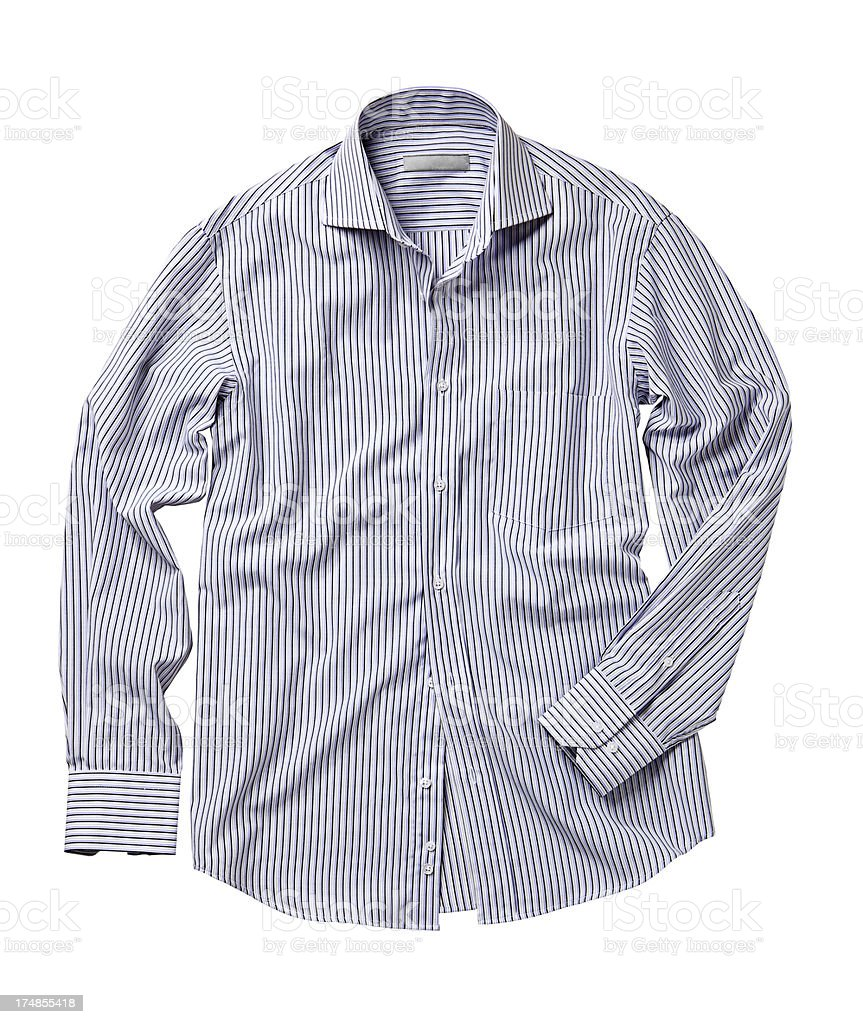 men's shirt royalty-free stock photo