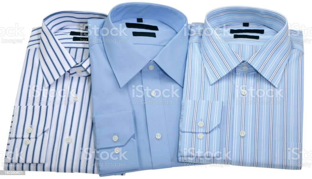 Men's Shirts royalty-free stock photo
