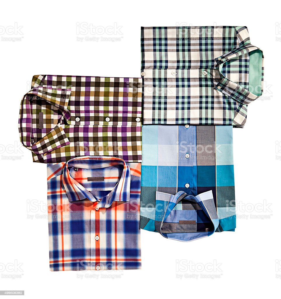 men's shirts stock photo