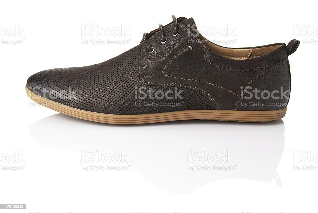 Men's Shoe royalty-free stock photo