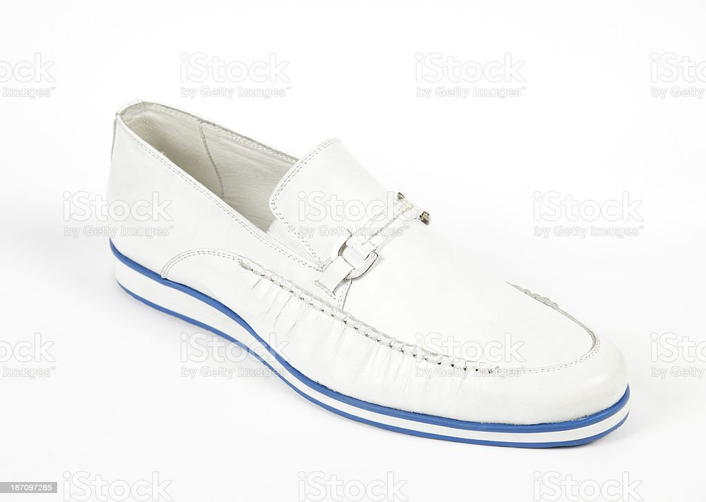 Mens shoe royalty-free stock photo