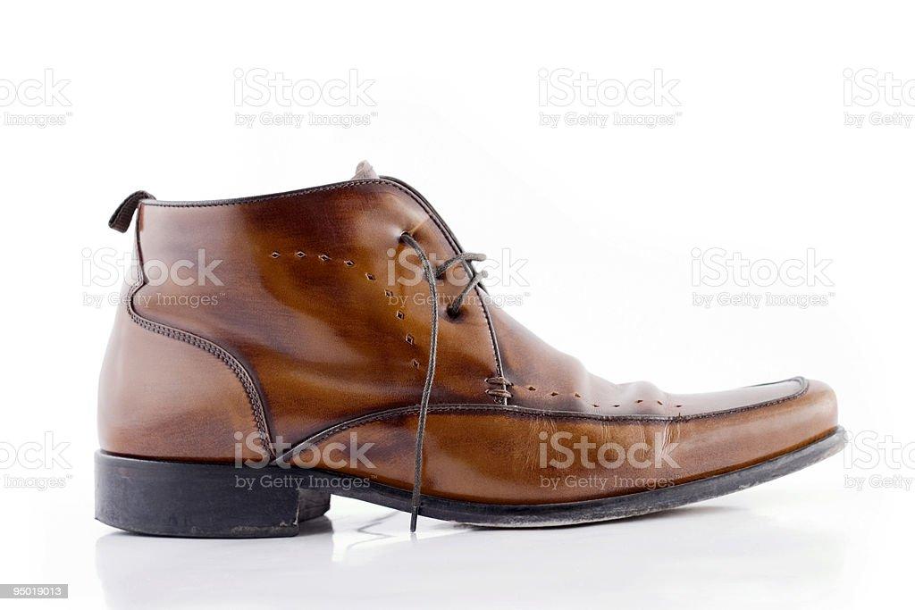 Men's Shoe stock photo