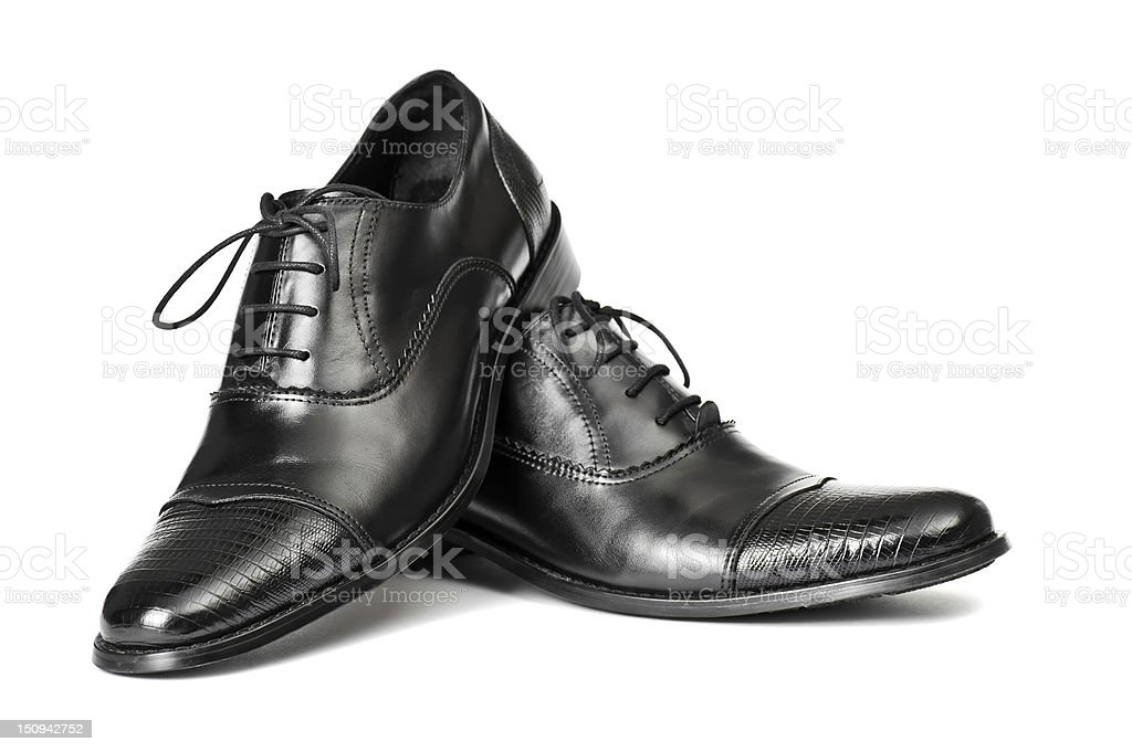 Mens Shoes royalty-free stock photo