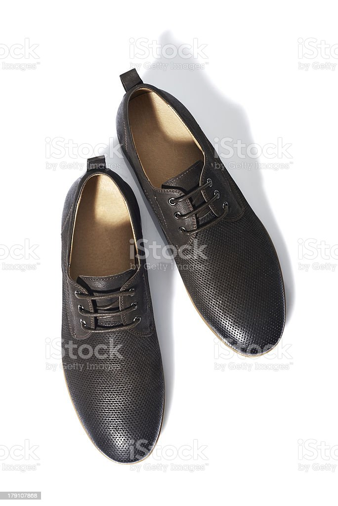 Men's Shoes royalty-free stock photo