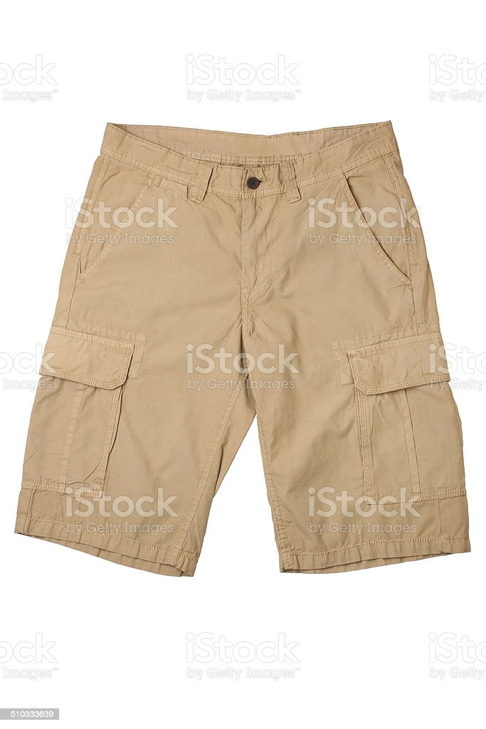 Men's shorts stock photo