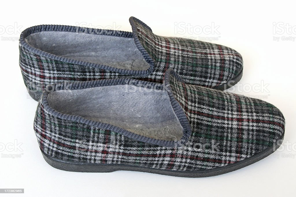 Men's slippers # 1 royalty-free stock photo