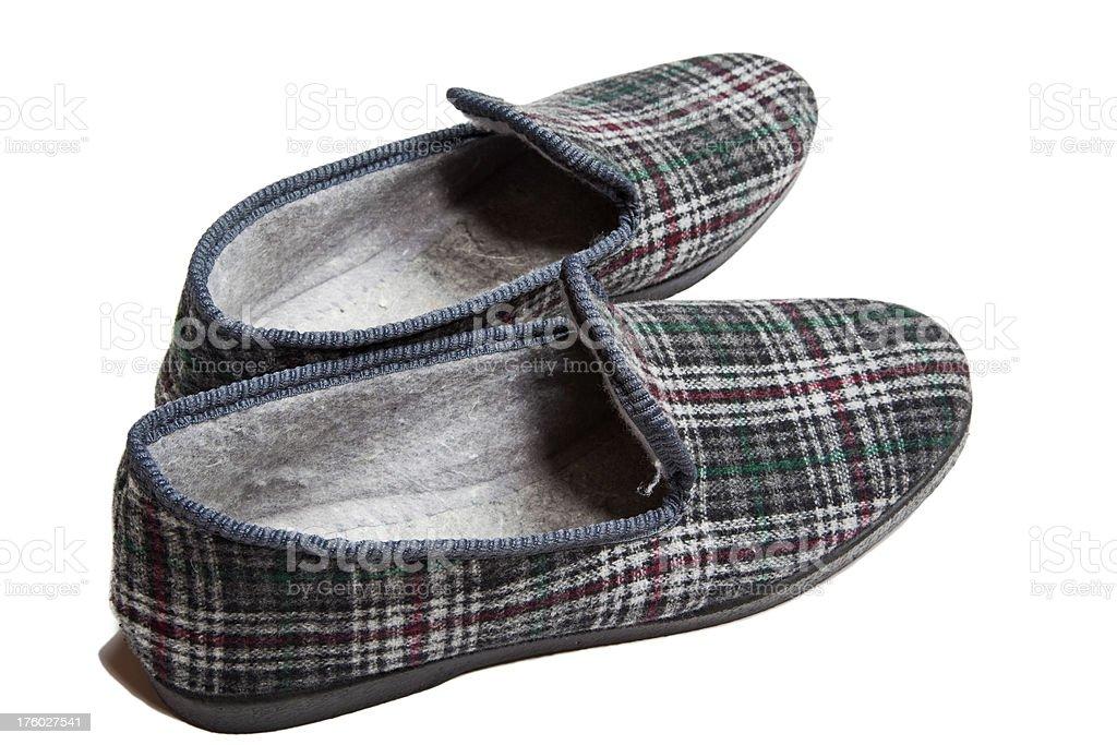 Men's slippers # 4 XXXL royalty-free stock photo