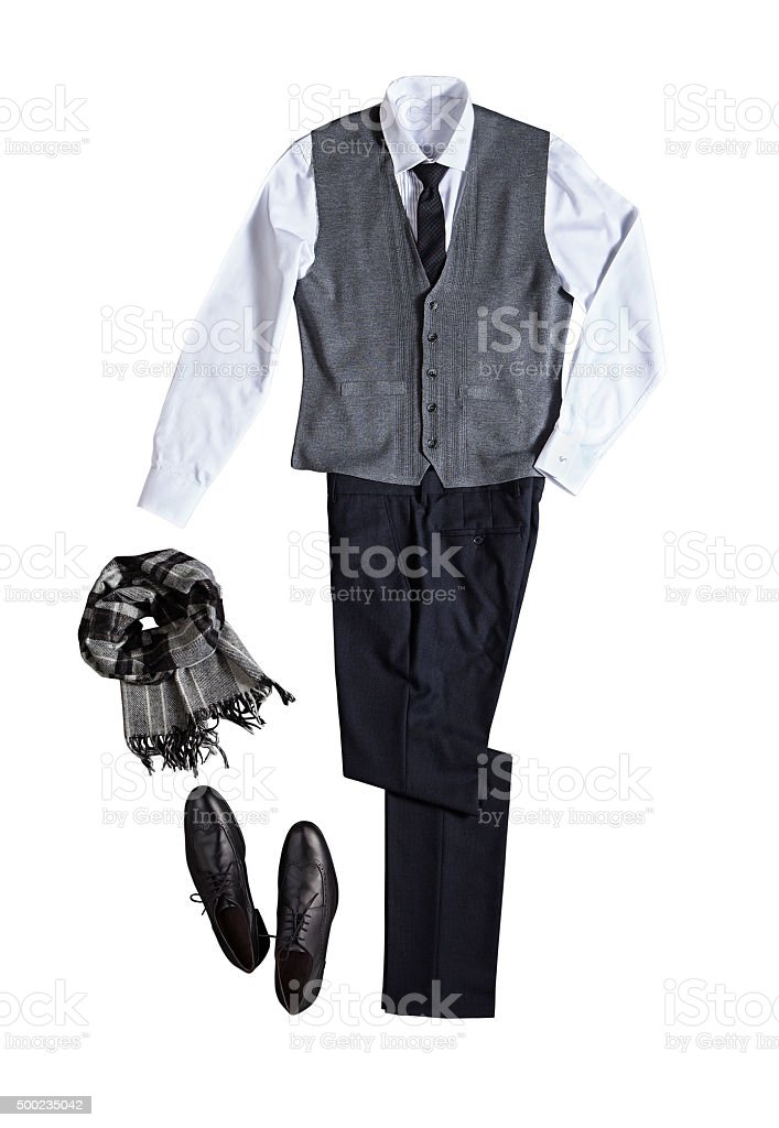 men's suit stock photo