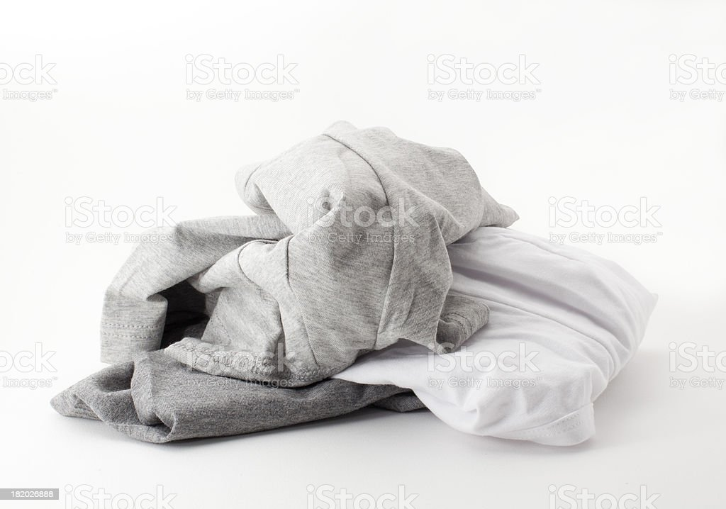 Men's Underpants On White stock photo