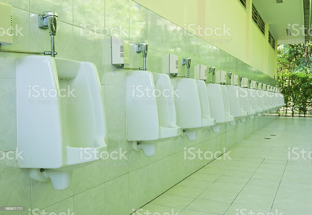 men's urine place royalty-free stock photo