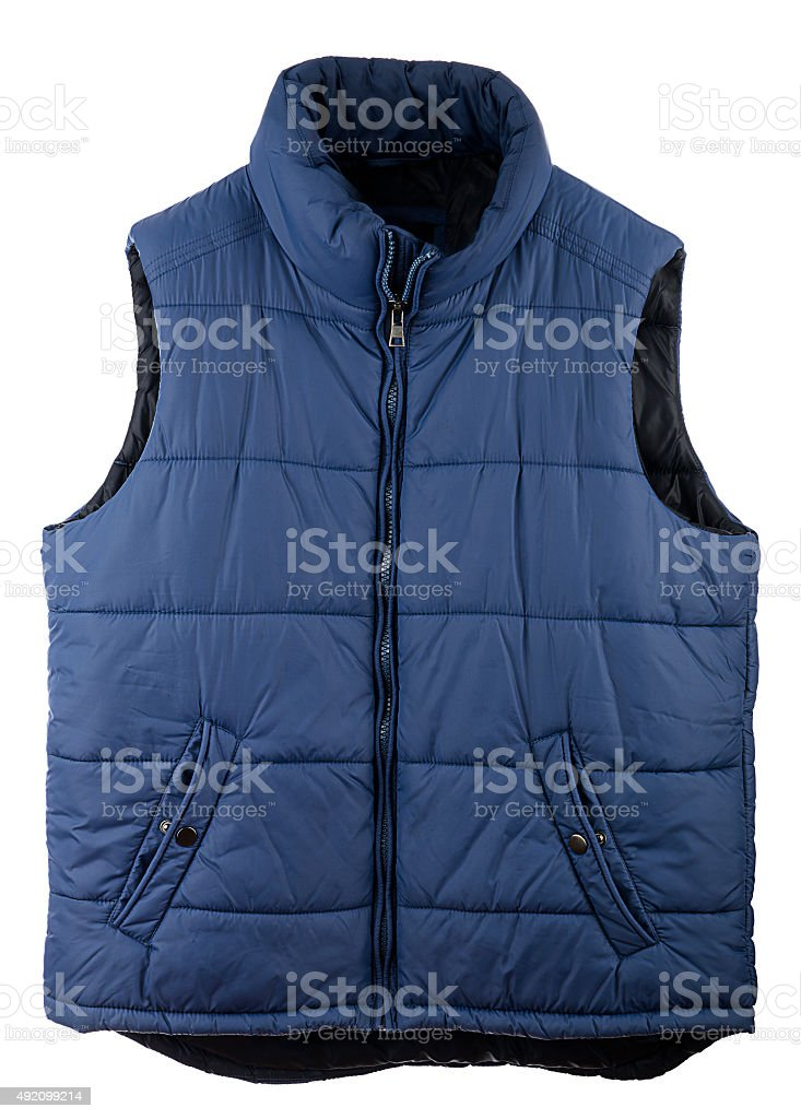 Men's Vest stock photo