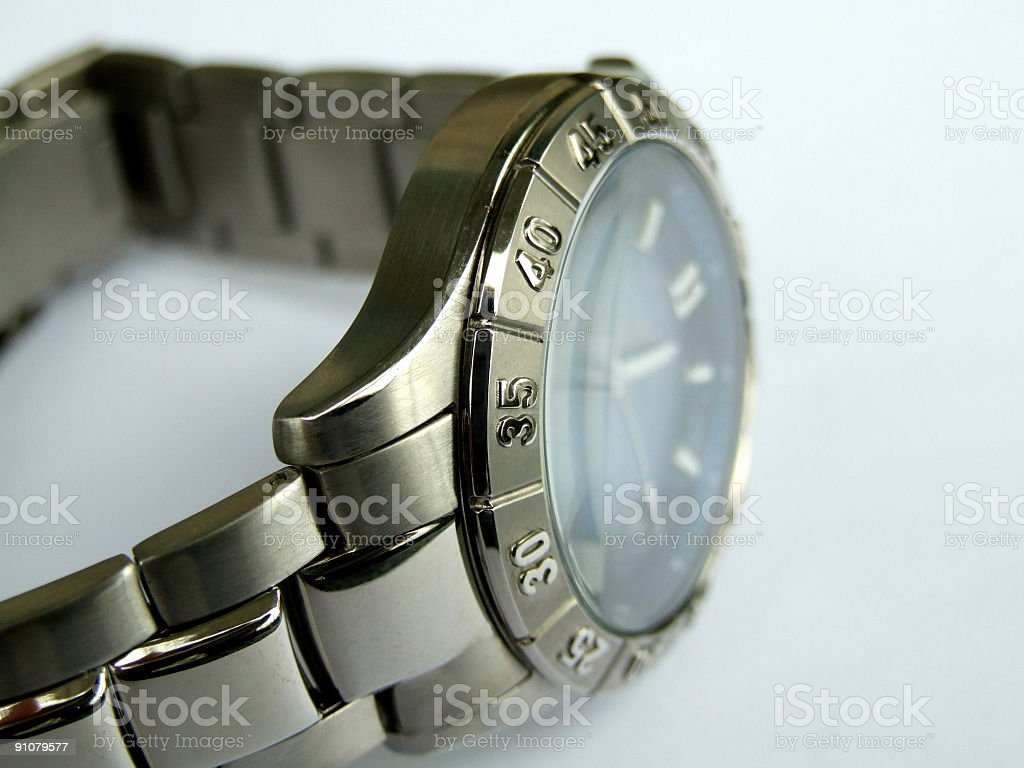 Men's Watch stock photo