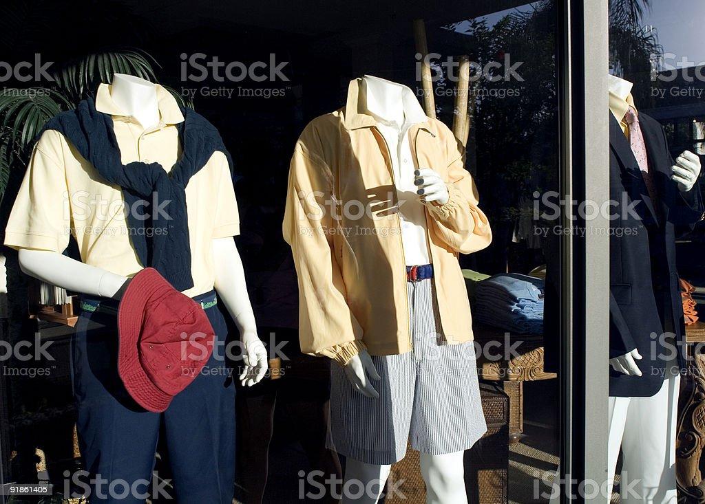 Mens Wear royalty-free stock photo