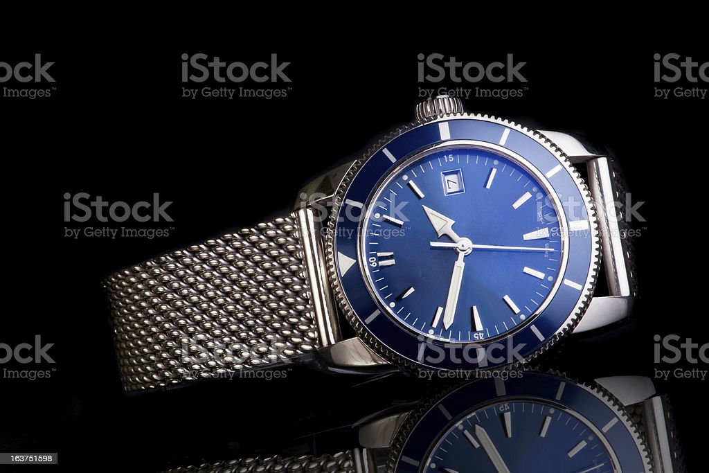 Mens  Wrist Watch stock photo