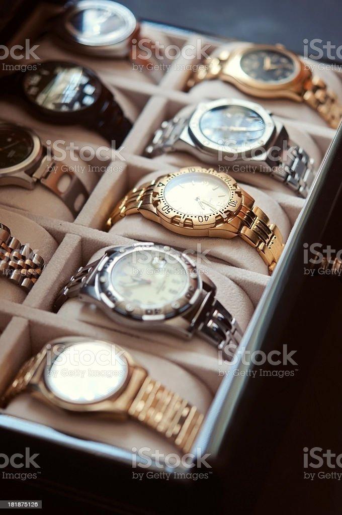 Mens Wrist Watches stock photo