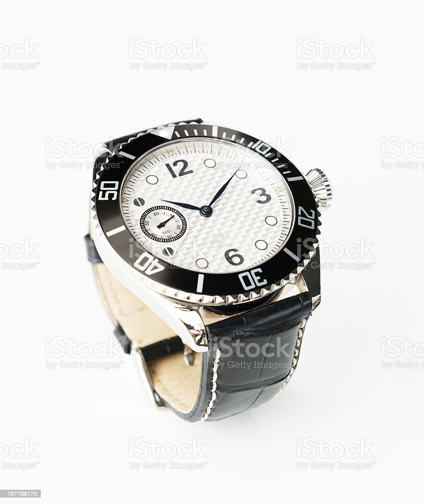 Mens Wristwatch royalty-free stock photo
