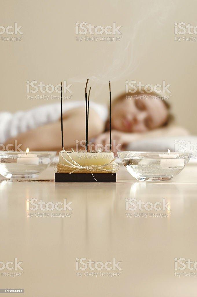Mental calmness royalty-free stock photo