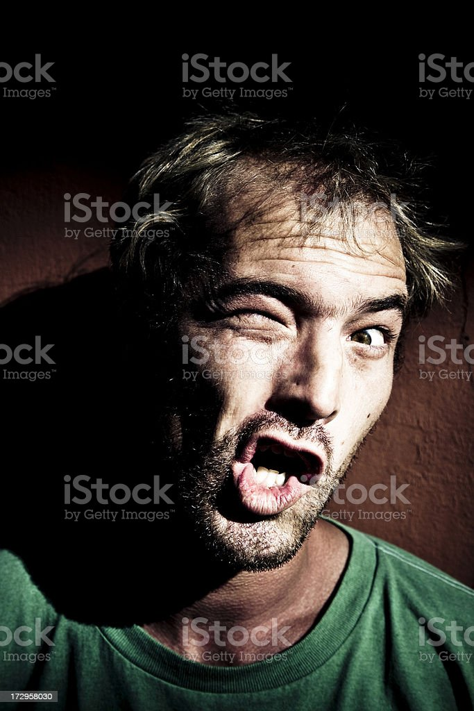 Mental disorder royalty-free stock photo