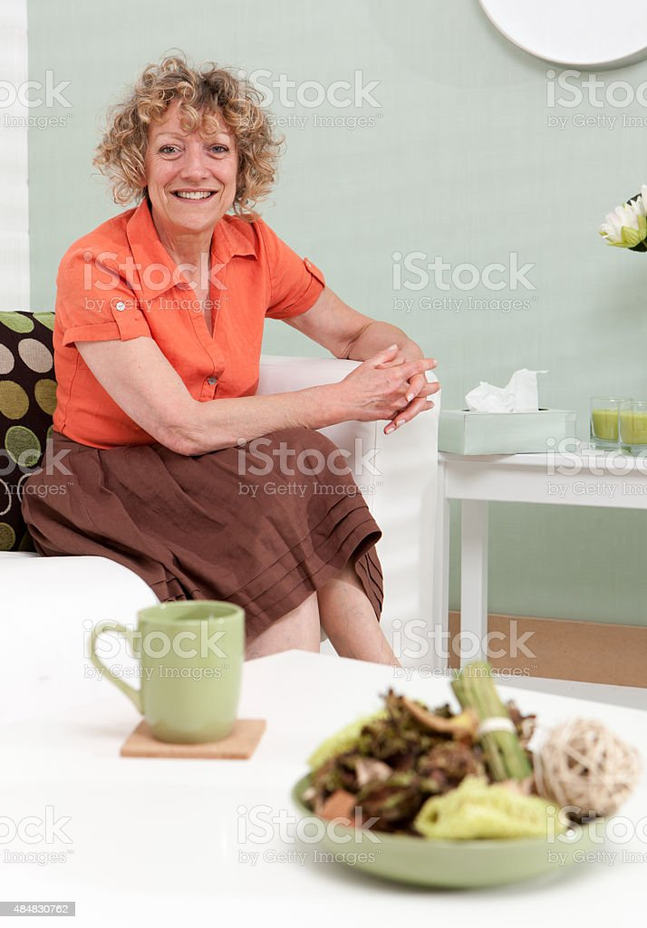 Mental Health: a friendly counsellor stock photo