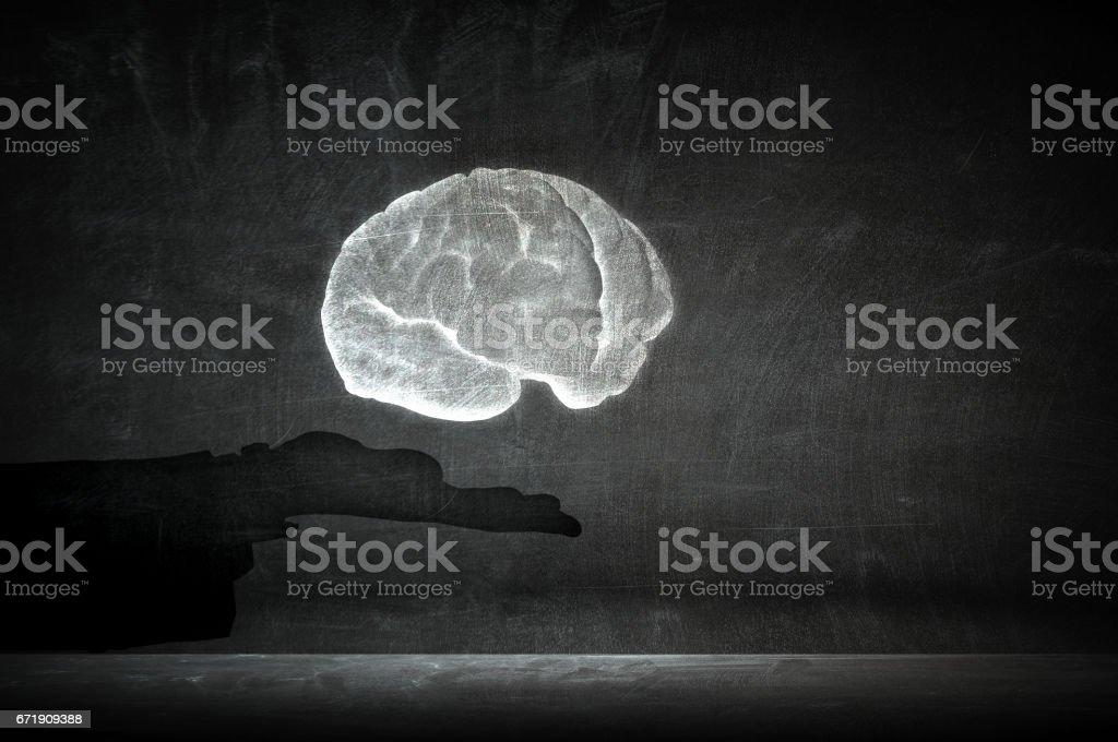 Mental health and ability . Mixed media stock photo