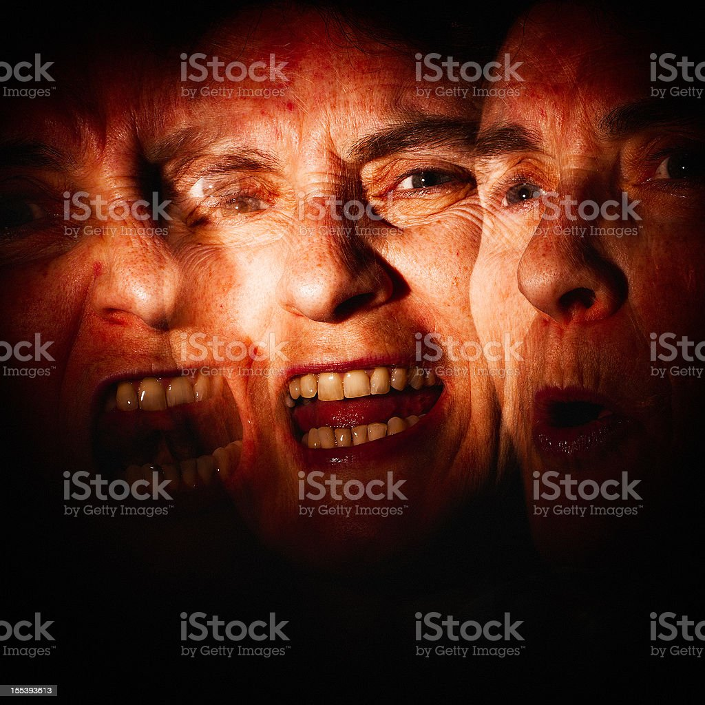 Mental health Issues stock photo
