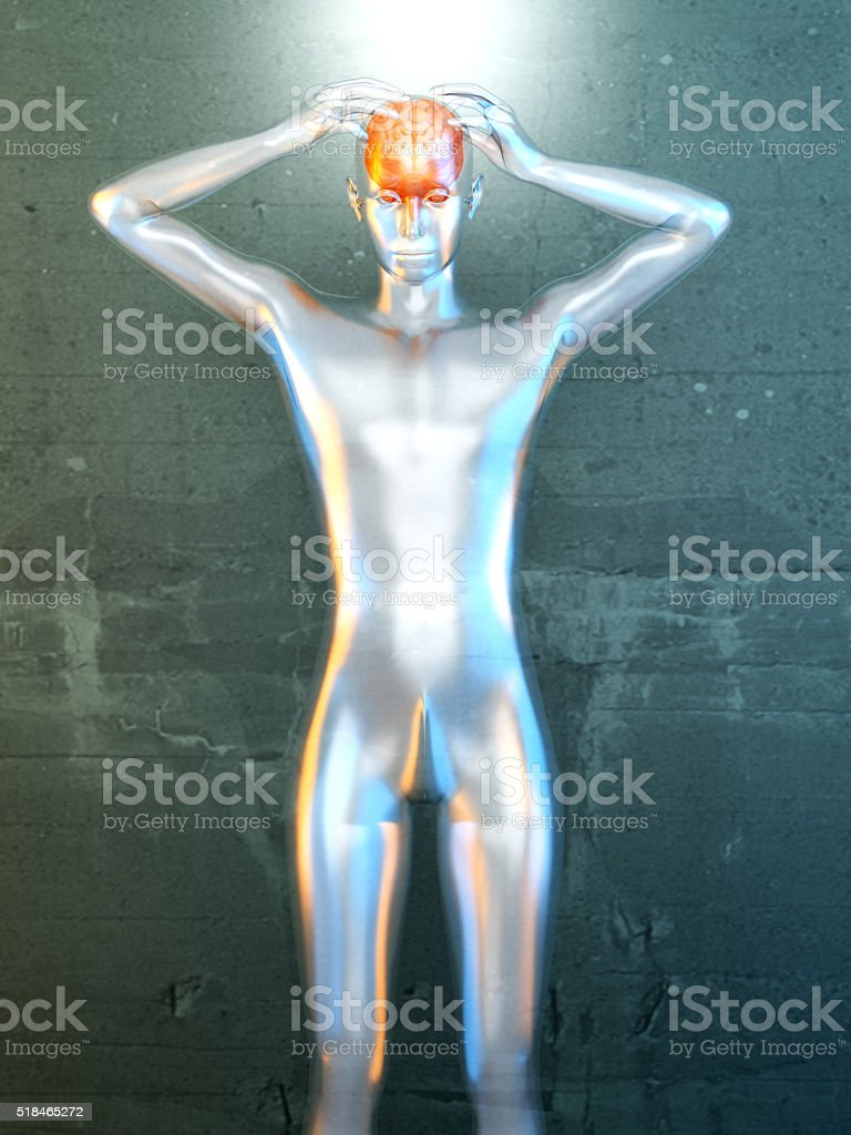 Mental Power stock photo