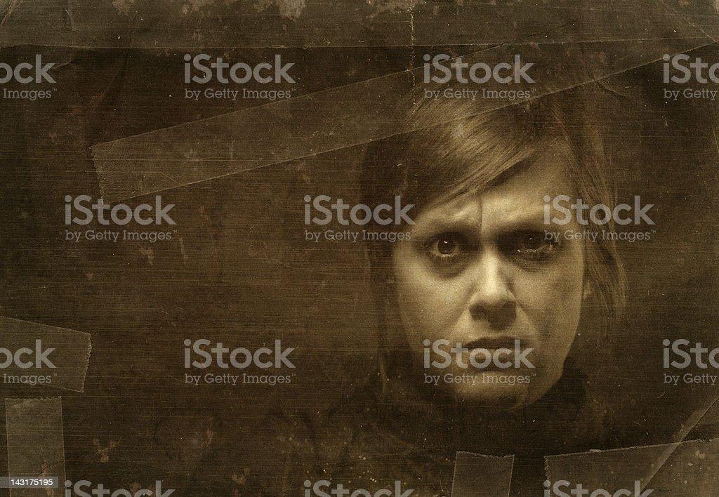 mental woman stock photo