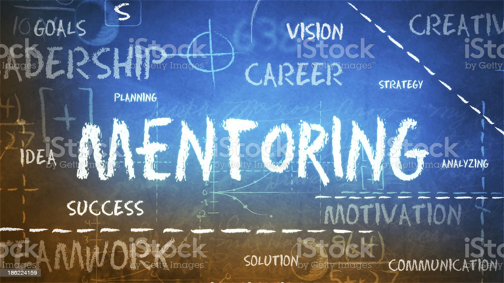 Mentoring Background (Loopable) stock photo