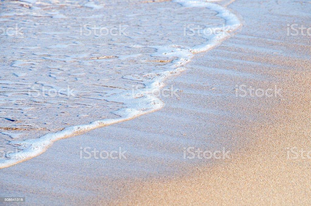 mer et plage stock photo