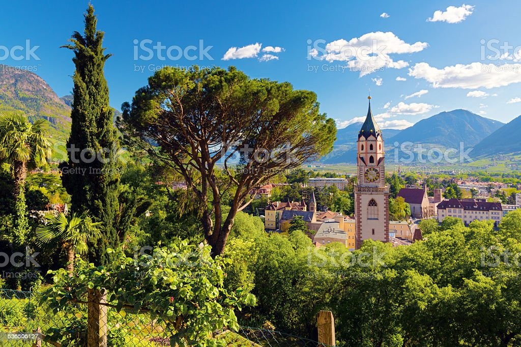 Meran - Südtirol stock photo