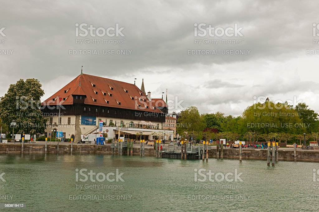 Mercantile House at the Harbour stock photo
