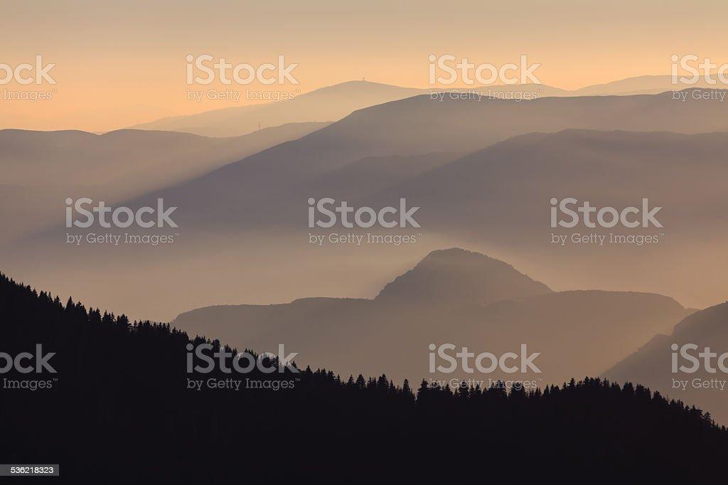 Mercantour National Park in France stock photo