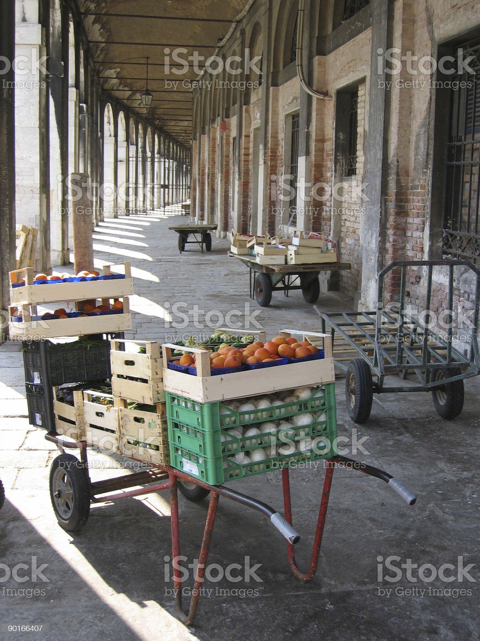 Mercato, Venezia -- Italy royalty-free stock photo