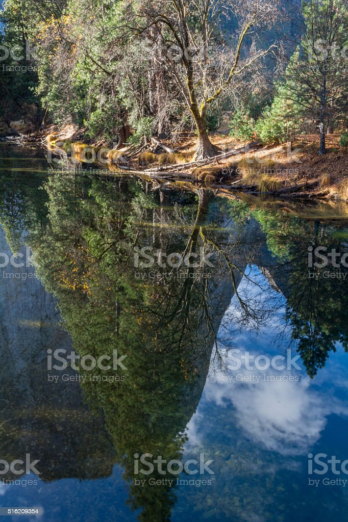 Merced Reflection stock photo
