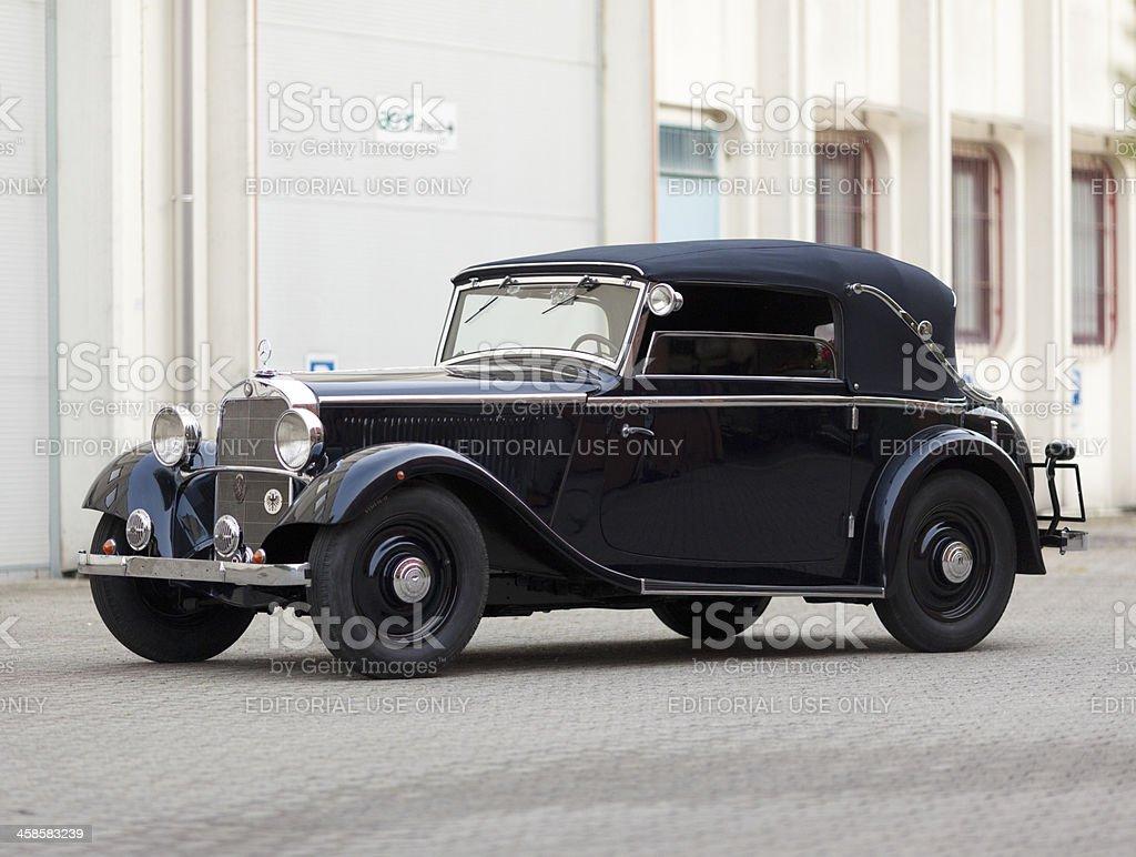1935 Mercedes 200 stock photo